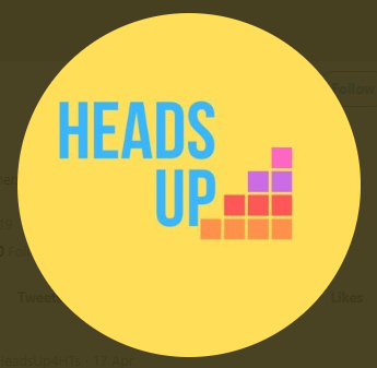Heads Up logo - a contributor at the Teacher Empowerment Event Manchester